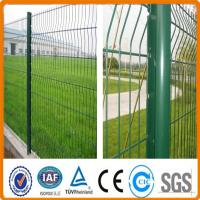 Buy cheap 6x6 reinforcing metal PVC coated welded wire mesh fence/security fence from Wholesalers