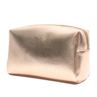 China Fashion Cosmetic Leather Golden Promotional Gifts Bags factory