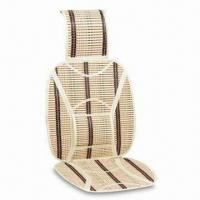 China Car Cushion, Made of Bamboo, Available in Black factory