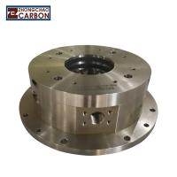 Buy cheap Turbine Carbon Rotary Shaft Seal High Rotation Speed Chemical Resistance from Wholesalers