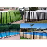 China Australia Standard Pool Fence Panel 2400mm x1200mm on sale
