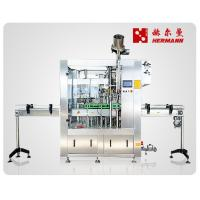 China Fully Automatic Beer Glass Bottling Machine For Medium Capacity Brewery factory