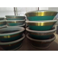China Mn13Cr2 Mn18Cr2 Mining Machine Spare Parts Cone Crusher Bowl Liner And Mantle factory