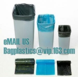 China HDPE liner, swing bin liner, white bags, green bags, black bags, nappy bags, bin bags factory