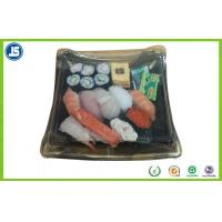 Buy cheap Biodegradable Plastic Food Packaging Trays Sushi Tray With Clear Lid from Wholesalers