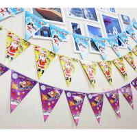 Buy cheap Customized Waterproof Advertising Flag Banners , Christmas Create Custom Flag Bunting from Wholesalers