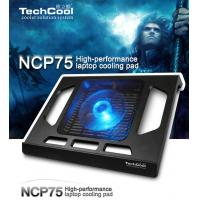 Folding colorful laptop cooling pad USB2.0 notebook cooler with LED light For Notebook