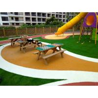 China Skid Proof EPDM Rubber Flooring With 100% Recycled Rubber Granules factory