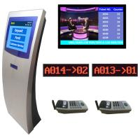 Buy cheap Electronic Queuing Ticket Number Waiting System Integrated With Centralized LCD/TV Display from Wholesalers