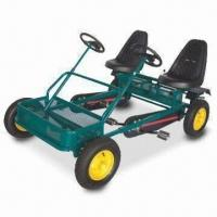 China Go Kart with Heavy-duty Frame, 120kg Loading Capacity and Chain Guard factory