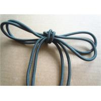 China Colored Cotton Cord for garment Braided Fabric Waxed Cotton Cord for Shoelace factory