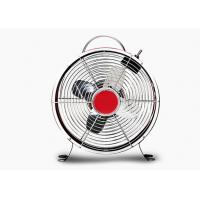 Buy cheap Quiet Decorative Retro Electric Fan 2 Speed 4 Blade Metal Carry Handle from Wholesalers