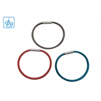 China Locking Cable Key Ring factory