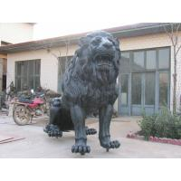 Buy cheap Large Beautiful Cast Bronze Lion Sculpture from Wholesalers