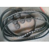 China Anti Slip Robot Rubber Tracks Customized Size For Prototype Lawn Mover factory