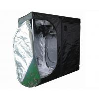China Black Mylar cannabis Indoor grow tent for hydroponic and floriculture 140x140x200cm on sale