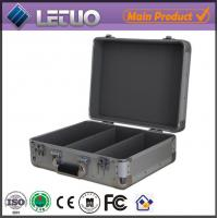 China Aluminum china supplier portable cd player case custom case for equipment To Fit 100 CD's on sale