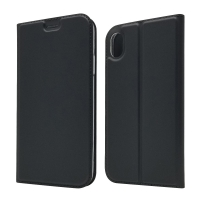 China Black Protectiveable ISO9001 Leather Flip Cases factory