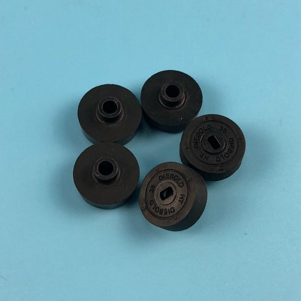 China Diebold Opteva Parts Plastic ATM Machine Components CO Approved Stripper Wheel 49016968000F 49-016968-000F factory