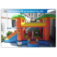 China Kids Bounce House Inflatable Patrol Jumping Castle With Slide Combo For Party factory