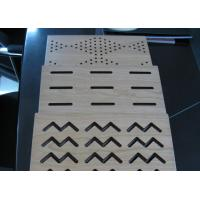 Buy cheap U Grooved MDF Acoustic Panel , Sound Absorption Acoustic Wall Panels BT new pattern from Wholesalers