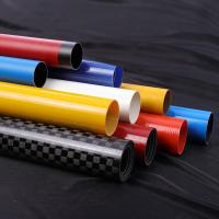 China Hollow Oval Sleeve Extension Fiberglass Round Tube factory
