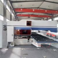 Buy cheap Automatic CNC Sheet Metal Punching Machine High Efficiency 16 / 24 / 32 Station from Wholesalers