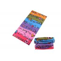 Buy cheap Bicycle Simple UV Buff Headwear , Polyester Buff Tube Scarf Speed Dry from Wholesalers