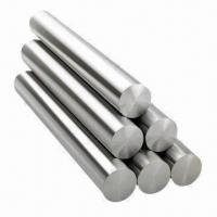 Stainless Steel Round Bars with H9 Tolerance, Cold-drawn and Hot-rolled
