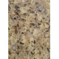 China Quartz stone, artifical slab micro-crystal stone countertop vanity 300x200cm on sale