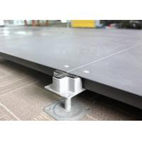 Buy cheap SGS Network False Floor , Bare Finish Office Cementious Infill Steel Raised Floor from Wholesalers