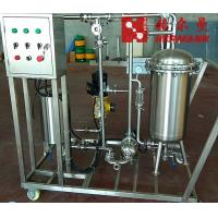 China Kieselguhr Filter Beer Filtration Equipment Diatomite Filter Beer Brewing Equipment factory