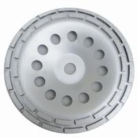 China Double Row Diamond Grinding Cup Wheel for grinding concrete / 7 inch diameter factory