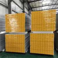 China fireproof 1150-50-426mm greywhite mgo sandwich panel for clean room factory