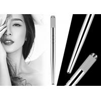 China Professional Eyebrow Heavy Silver Microblading Manual Pen With Hairstroke Technology factory