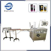China Automatic Video Box Cartoning Packing Machine for E-Cig Bottle factory