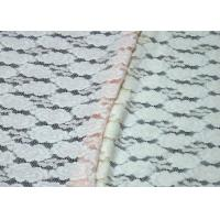 Buy cheap Elegant Colored Breathable Brushed Jacquard Lace Fabric For Women from Wholesalers