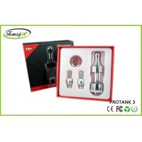 China Dual Coil Kanger Protank 3 With 2.5ml Huge Liquid Capacity And Big Vapor factory