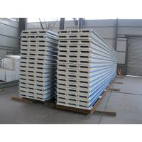 Buy cheap PU Insulation Sandwich Panel 950mm , Corrugated Steel Roof Panel from Wholesalers