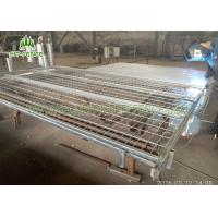 Buy cheap Mobile Temporary Fence Panels , Stainless Steel Welded Wire Mesh Panels from Wholesalers