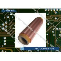 Buy cheap Double Shiny Rolling Red Copper Foil For FPC , Roll Size , Maximum Width 650 from Wholesalers