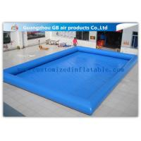 China 12 * 10m Summer Large Inflatable Swimming Pool For Adults Customized factory