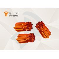 China Rock Blasting And Fine Alloy Steel Compatible For Different Rock Thread Button Bit factory
