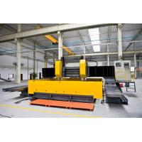 China Double - Spindle CNC Plate Processing Machine Gantry Movable Type Flexible factory