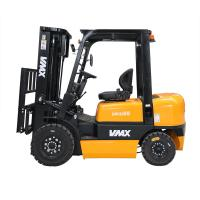 China 2.5 Ton Diesel Forklift Truck High Efficiency With Penumatic Forklift Tire on sale