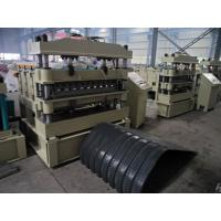 Buy cheap Crimping Metal Roofing Roll Forming Machine Cr12 mould steel from Wholesalers