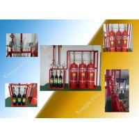 Hfc227ea FM200 Fire Suppression System With 4.2Mpa Storage Cylinder