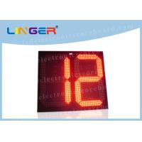 China 2 Digits Big Digit Countdown Timer , Countdown Digital Clock For Countdown Seconds factory
