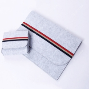 China Wool Felt Elastic Band 11 12 Inch Laptop Protective Sleeve factory