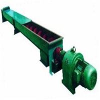 China Double Shaft 270.7m3/h Screw Conveyor Machine For Building Materials factory